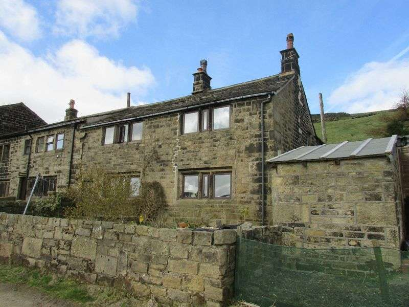 3 Bedrooms Semi Detached House for sale in Edge Lane, Colden, Heben Bridge