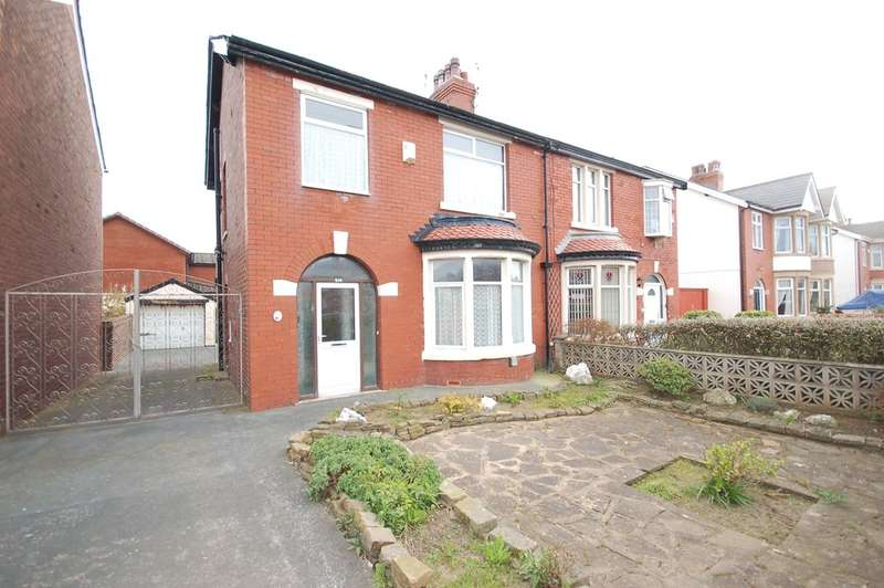 3 Bedrooms Semi Detached House for sale in St Annes Road, Blackpool