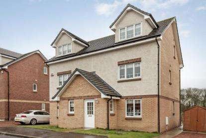 3 Bedrooms Semi Detached House for sale in Wilkie Drive, Motherwell, North Lanarkshire