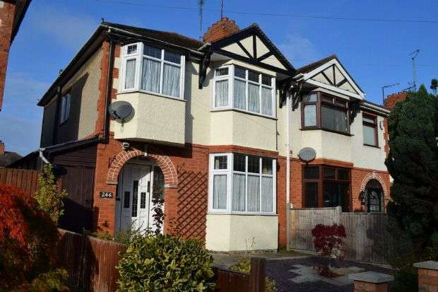 3 Bedrooms Semi Detached House for sale in London Road, Delapre, Northampton NN4 8AX
