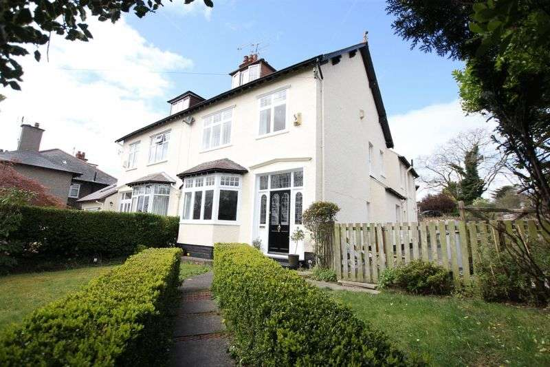 5 Bedrooms Semi Detached House for sale in Quarry Road West, Heswall, Wirral