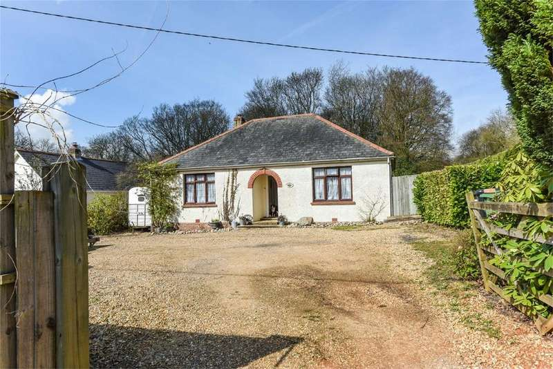 2 Bedrooms Detached Bungalow for sale in Red Hill, MEDSTEAD, Hampshire