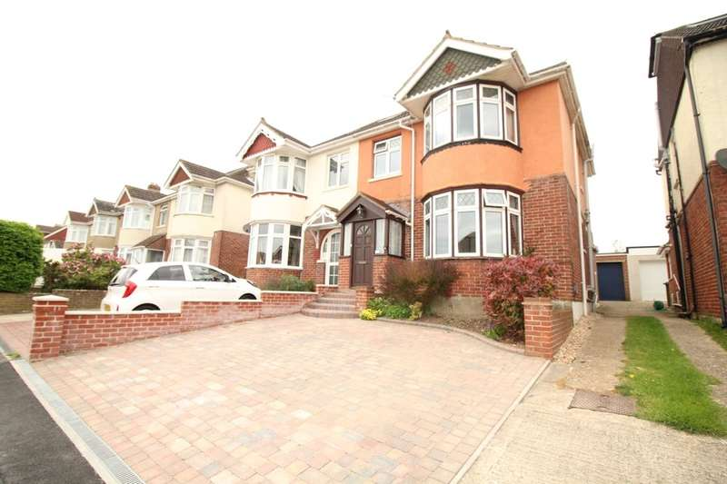 4 Bedrooms Semi Detached House for sale in The Hillway, Portchester, Fareham, PO16