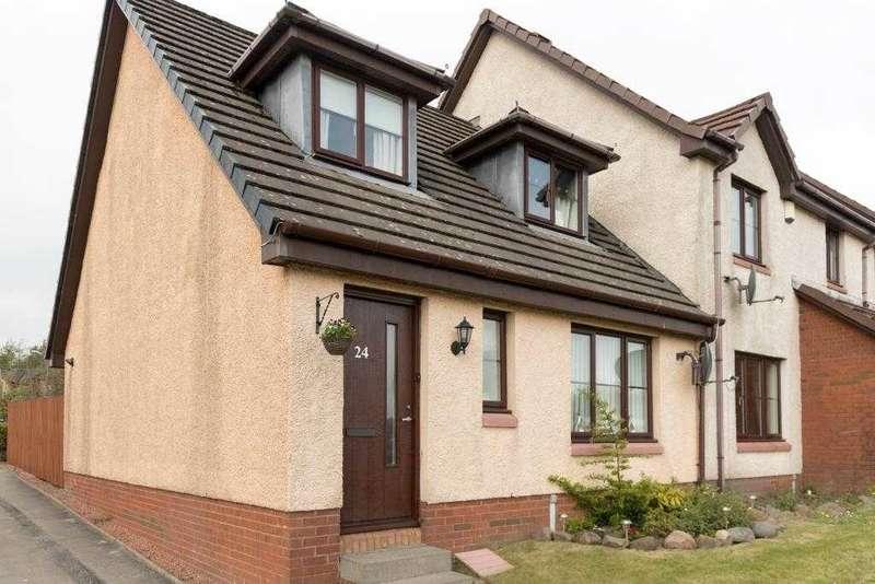 3 Bedrooms End Of Terrace House for sale in Glen Rosa Gardens, Craigmarloch, Cumbernauld