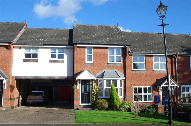 3 Bedrooms Town House for sale in Victoria Gardens, Lichfield, Staffordshire