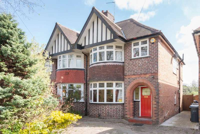 3 Bedrooms Semi Detached House for sale in Studland Road, Hall Green