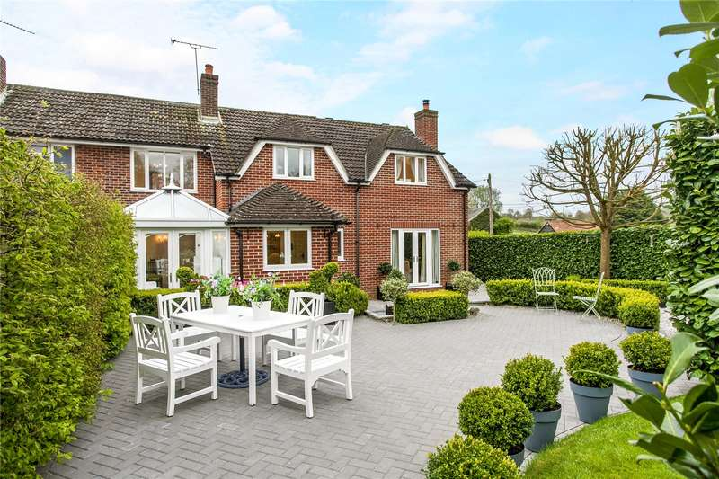 4 Bedrooms Semi Detached House for sale in Kennel Farm Cottage, Hensting Lane, Fishers Pond, Hampshire, SO50