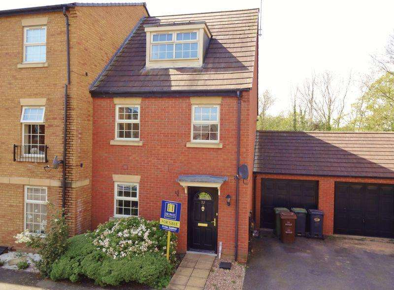 3 Bedrooms End Of Terrace House for sale in Outfield Close, Great Oakley, Corby