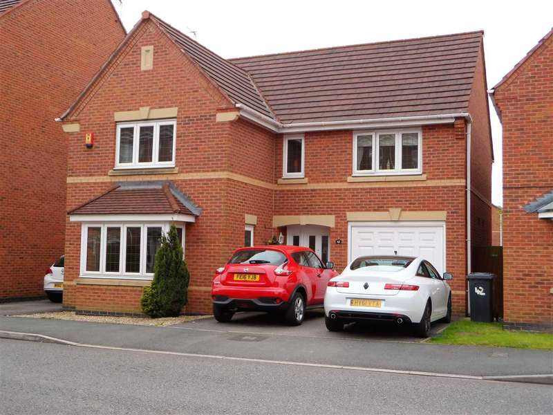 4 Bedrooms Detached House for sale in Arizona Crescent, Great Sankey, Warrington
