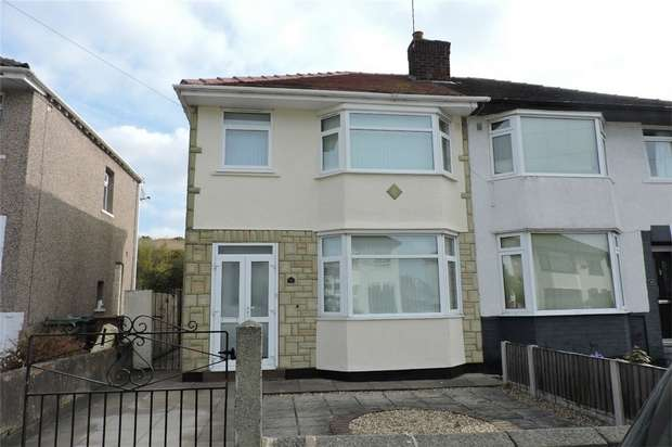 3 Bedrooms Semi Detached House for rent in Eccleshall Road, WIRRAL, Merseyside