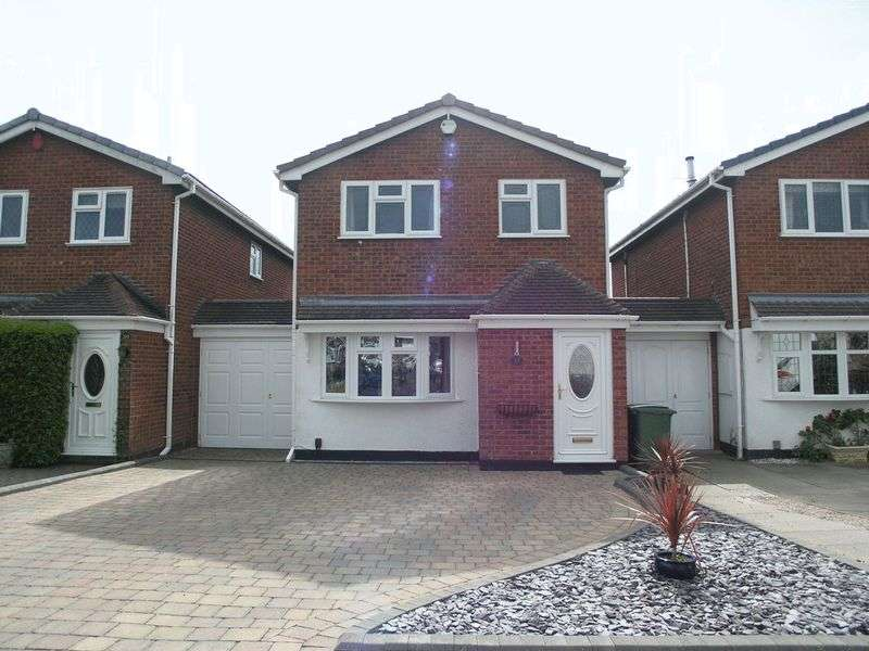 3 Bedrooms Detached House for sale in BRIERLEY HILL, Amblecote, Shearwater Drive