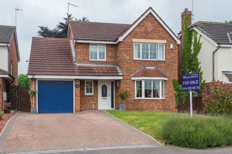 4 Bedrooms Detached House for sale in Stanier Way, Renishaw