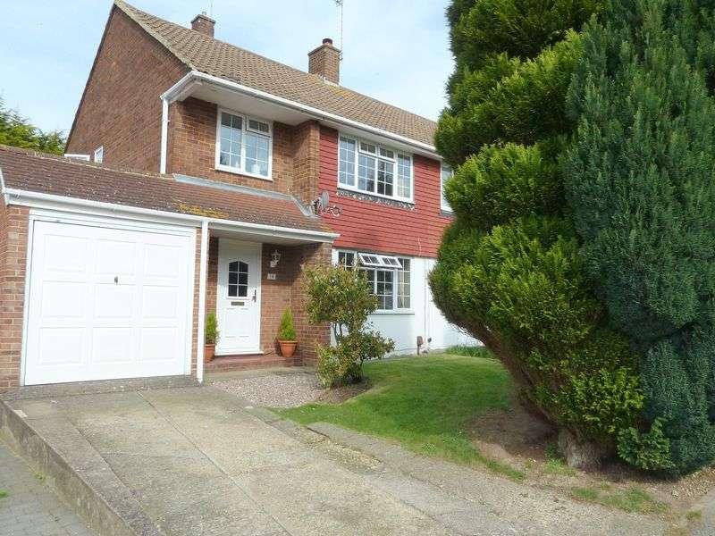 3 Bedrooms Semi Detached House for sale in Salisbury Avenue, Swanley