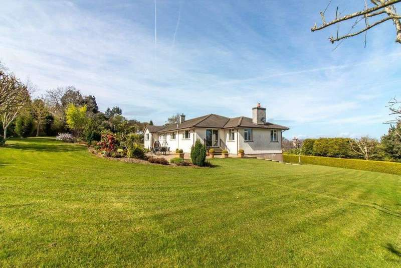 4 Bedrooms Detached House for sale in Cooilushtey, Church Road, Port Lewaigue, Maughold, IM7 1AQ