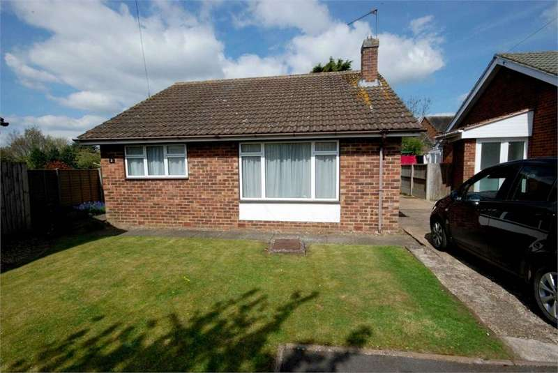 2 Bedrooms Detached Bungalow for sale in Whiley Close, Clifton upon Dunsmore, RUGBY, Warwickshire