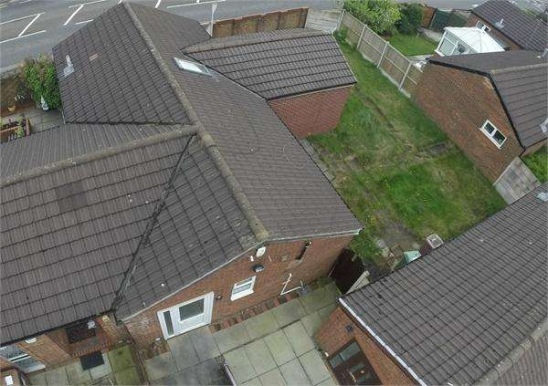 3 Bedrooms Semi Detached Bungalow for sale in Burnell Close, Newtown, St Helens, Merseyside