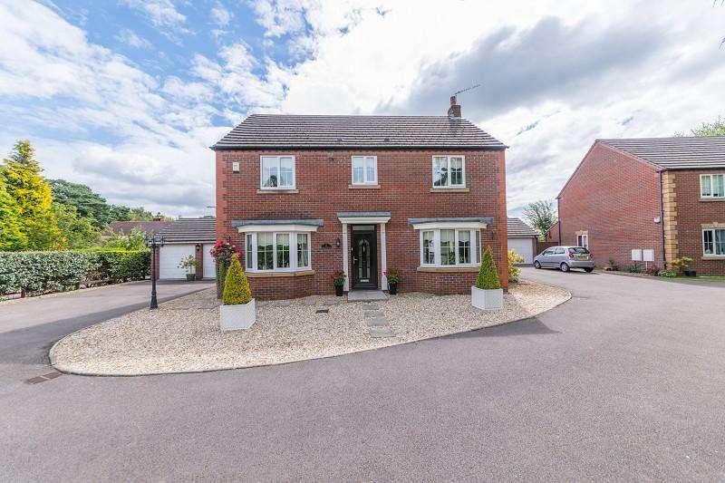 4 Bedrooms Detached House for sale in Pencarn Avenue, Coedkernew, Newport, Newport. NP10 8TJ