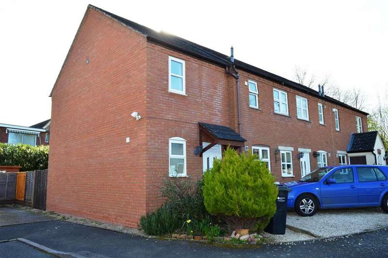4 Bedrooms Semi Detached House for sale in Glastonbury Close, Belmont, Hereford