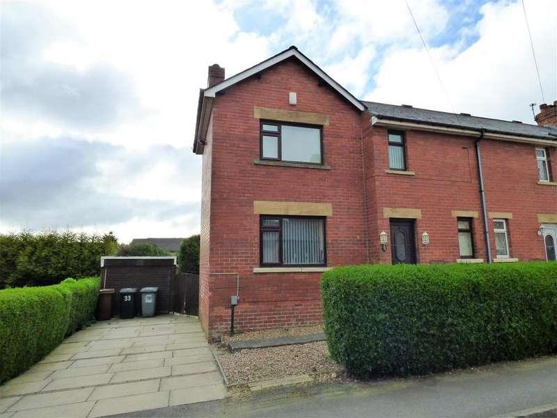 2 Bedrooms End Of Terrace House for sale in Whitehall Grove, Drighlington, BD11 1BG