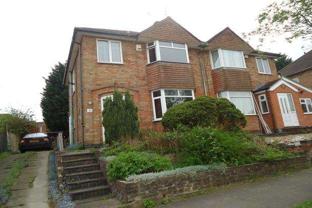 3 Bedrooms Semi Detached House for sale in Wintersdale Road, Evington, Leicester, LE5