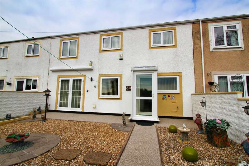 2 Bedrooms End Of Terrace House for sale in Wills Row, Rogerstone, Newport