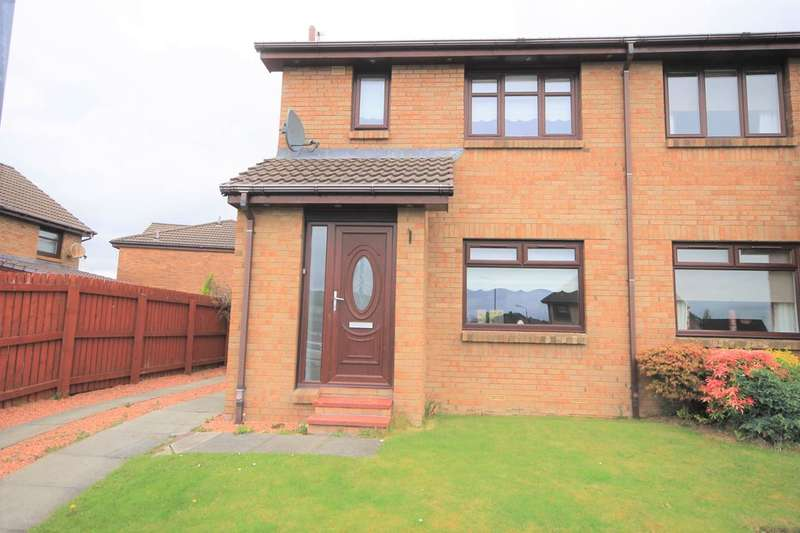 3 Bedrooms Semi Detached House for sale in Parkneuk Street, Motherwell
