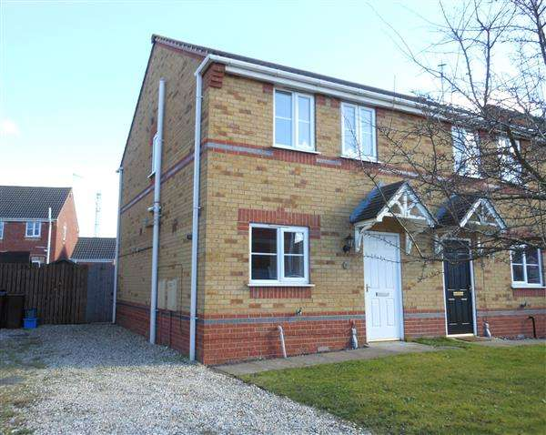 3 Bedrooms Semi Detached House for sale in Granville Road, Scunthorpe
