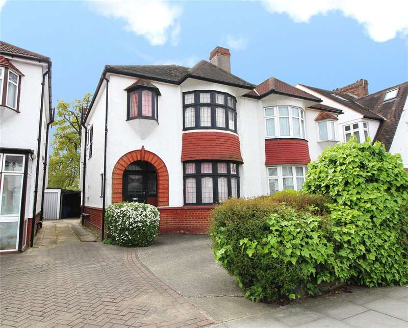 3 Bedrooms Semi Detached House for sale in Burleigh Gardens, Southgate, N14