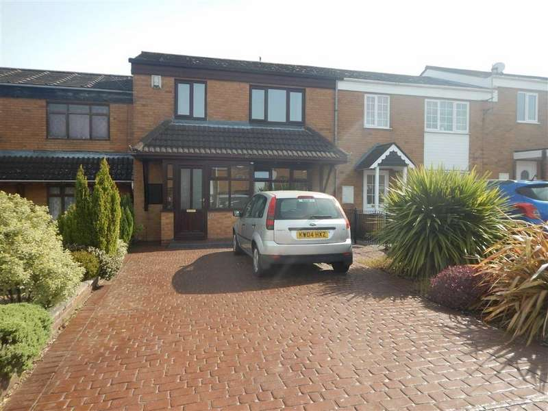 3 Bedrooms Terraced House for sale in Braemar Way, Glendale, Nuneaton, Warwickshire, CV10
