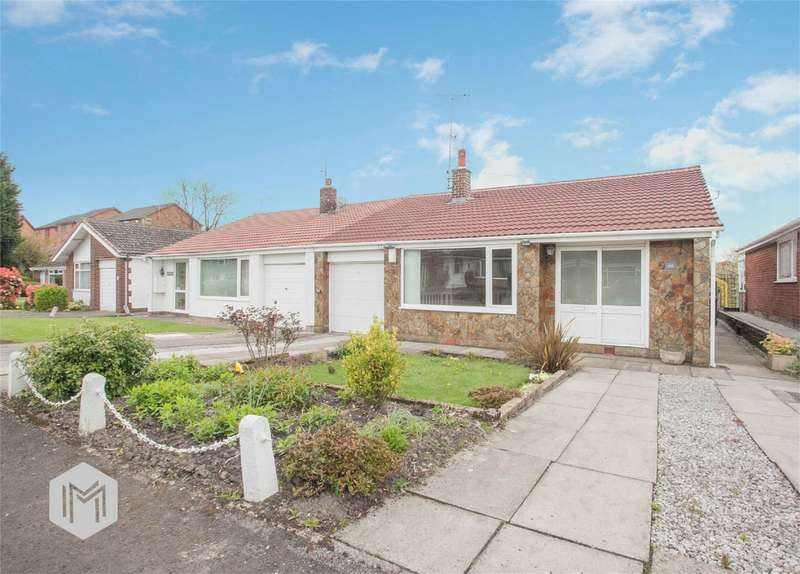 2 Bedrooms Semi Detached Bungalow for sale in Knowl View, Tottington, Bury, Lancashire