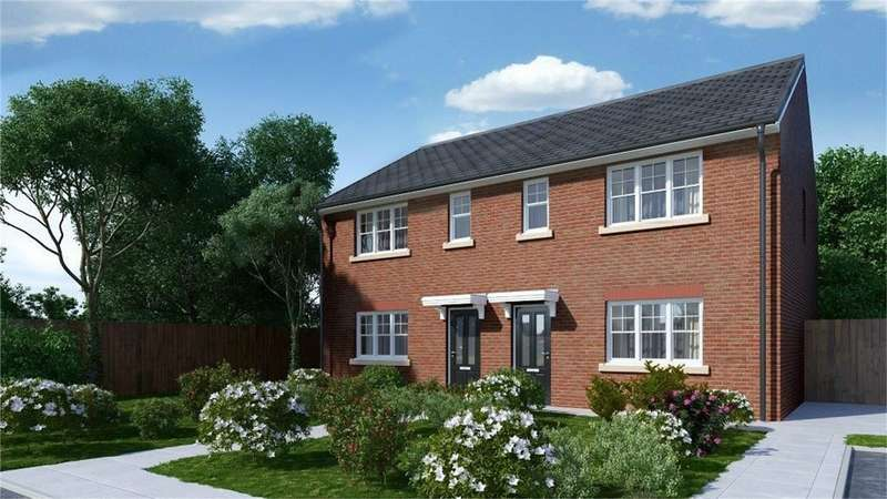 3 Bedrooms Semi Detached House for sale in Vicarage Gardens, Platt Bridge, Wigan, Lancashire