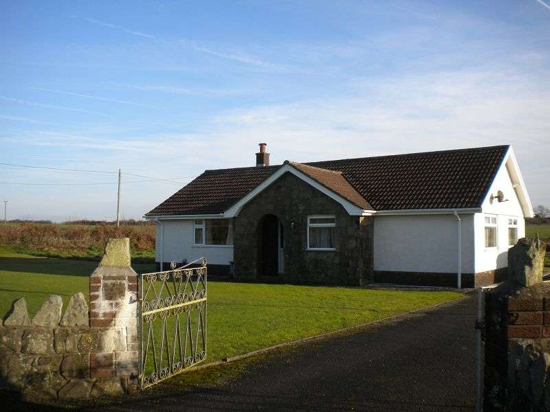 3 Bedrooms Detached Bungalow for sale in BACK ON THE MARKET - Furzehill Green Ilston, Swansea, City & County of Swansea. SA2 7LQ