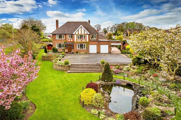 5 Bedrooms Detached House for sale in Kenilworth, Limekiln Bank, St Georges, Telford, Shropshire
