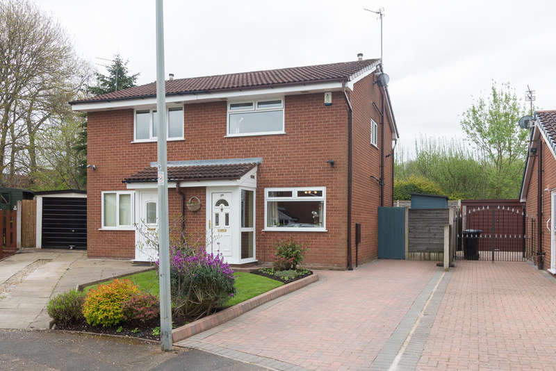 2 Bedrooms Semi Detached House for sale in Ingram Drive, Heaton Mersey
