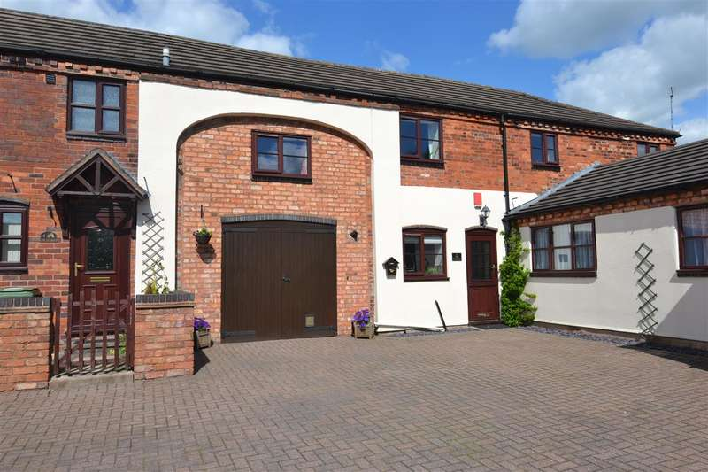 3 Bedrooms Terraced House for sale in Homestead Court, Stafford