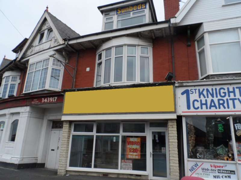 Shop Commercial for sale in St Annes Road, Blackpool, FY4 2AN