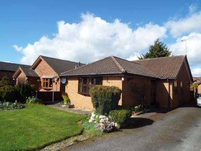3 Bedrooms Bungalow for sale in Sycamore Close, Uttoxeter, Staffordshire