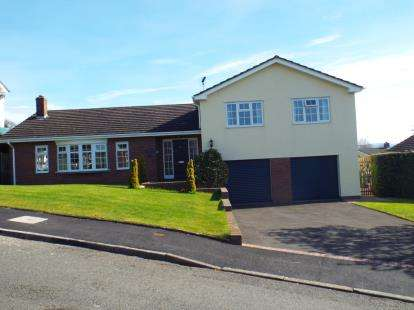 4 Bedrooms Detached House for sale in Tan Y Bryn, Llanbedr Dyffryn Clwyd, Ruthin, Denbighshire, LL15
