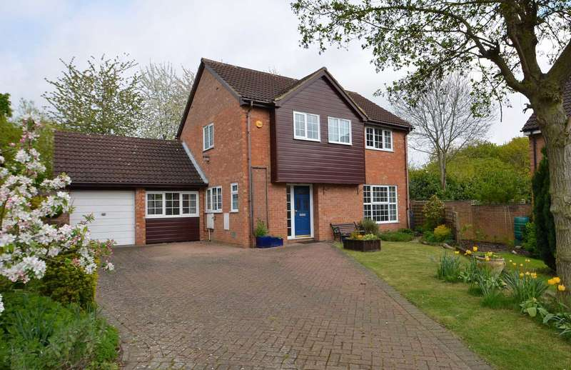 4 Bedrooms Detached House for sale in Lower Stonehayes, Great Linford
