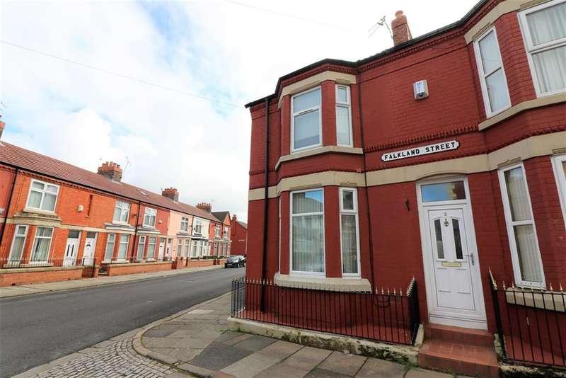 3 Bedrooms House for sale in Falkland Street, Birkenhead, CH41 0BD