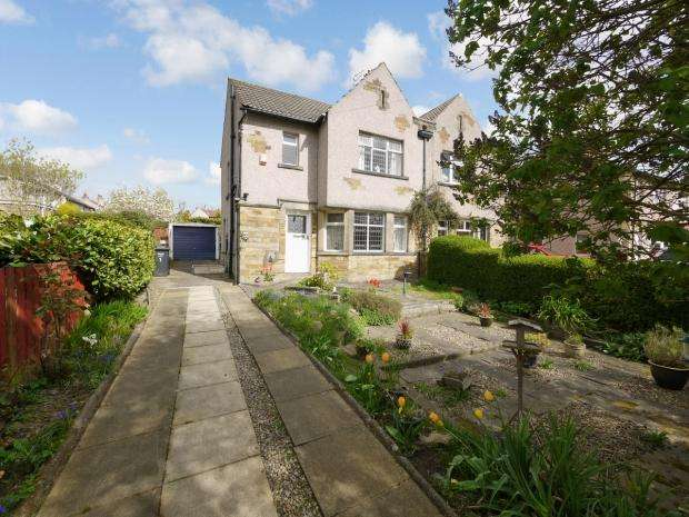 3 Bedrooms Semi Detached House for sale in Cliffe Avenue Lightcliffe Halifax