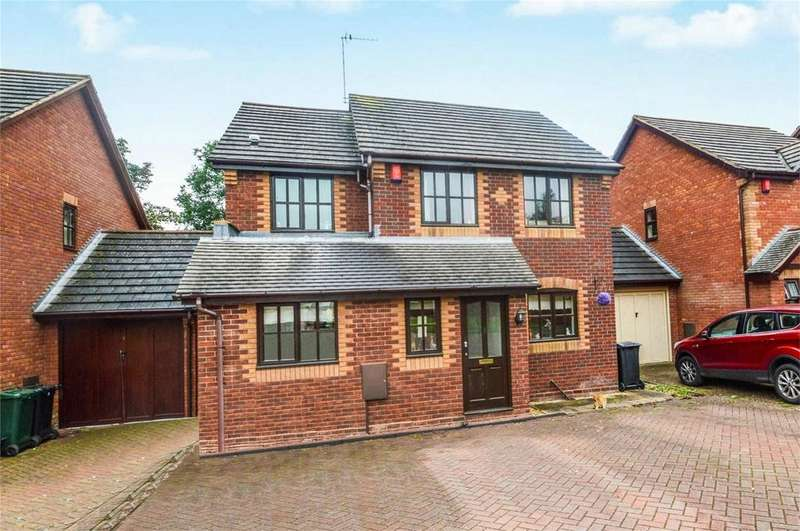 3 Bedrooms Detached House for sale in Heath Close, Cleobury Mortimer, Kidderminster, Shropshire