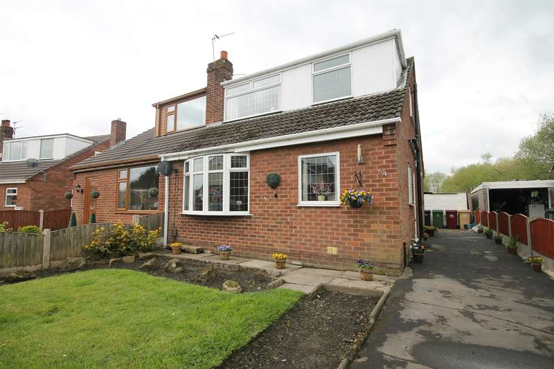 3 Bedrooms Semi Detached House for sale in Trent Way, Kearsley, Bolton, BL4 8PT
