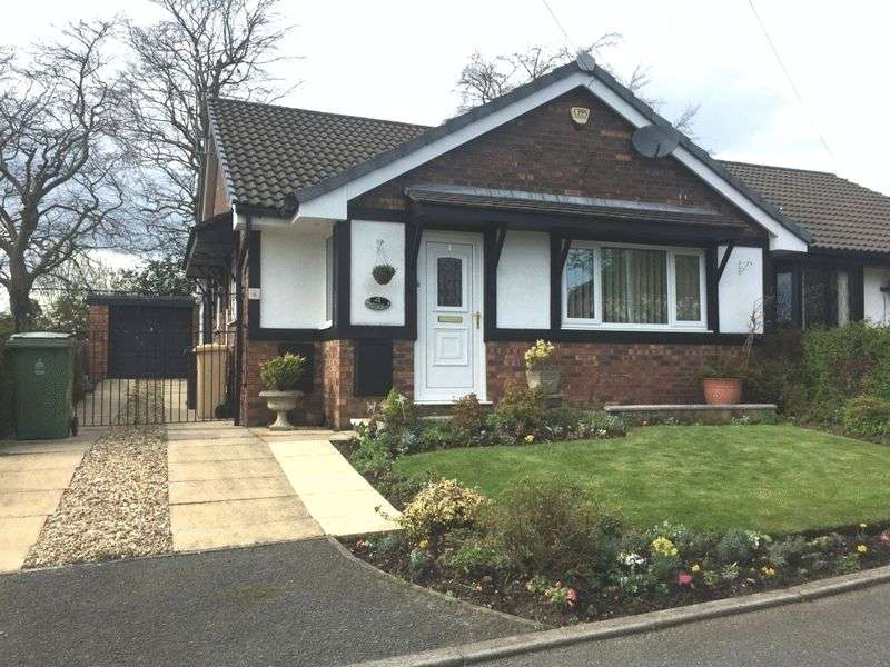 2 Bedrooms Semi Detached Bungalow for sale in Rectory Gardens, Westhoughton, Bolton