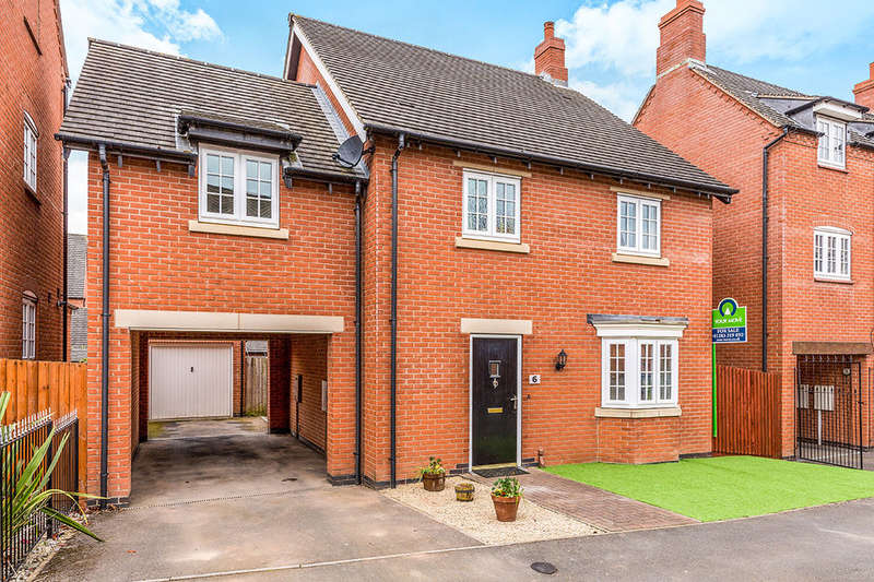 4 Bedrooms Detached House for sale in Cranfield Avenue, Church Gresley, Swadlincote, DE11