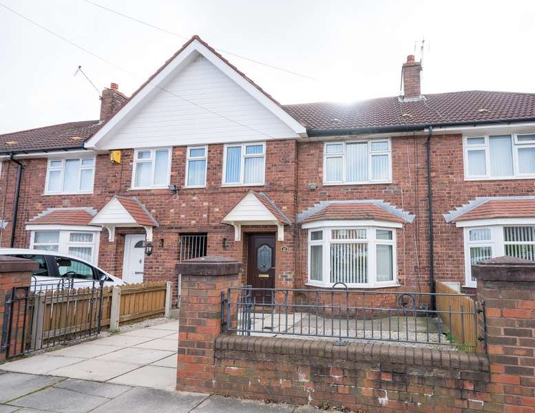 3 Bedrooms Terraced House for sale in Fairmead Road, Liverpool, Merseyside, L11