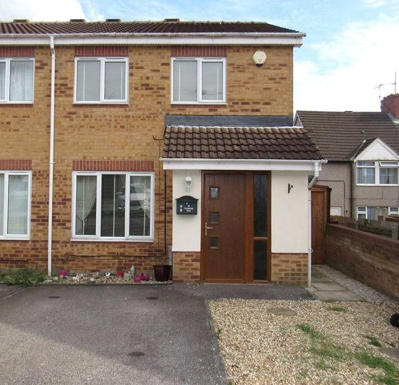 3 Bedrooms Semi Detached House for sale in Grizedale Rise, Mansfield, Nottinghamshire, NG19