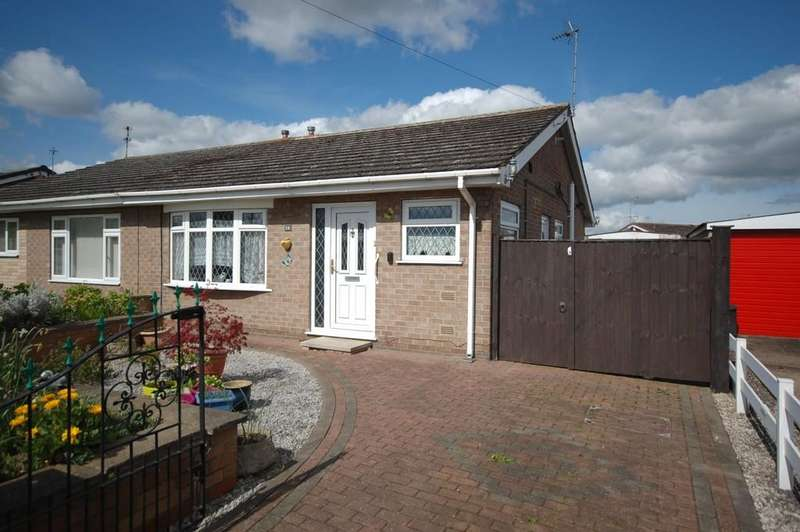 2 Bedrooms Semi Detached Bungalow for sale in Windermere Drive, Goole