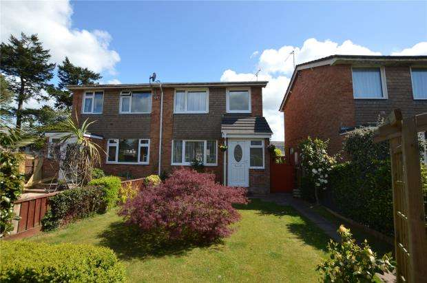 3 Bedrooms Semi Detached House for sale in Wells Avenue, Feniton, Honiton, Devon