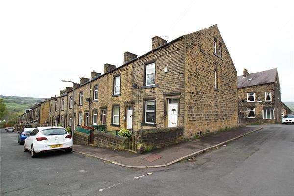 3 Bedrooms End Of Terrace House for sale in Clement Street, Sowerby Bridge